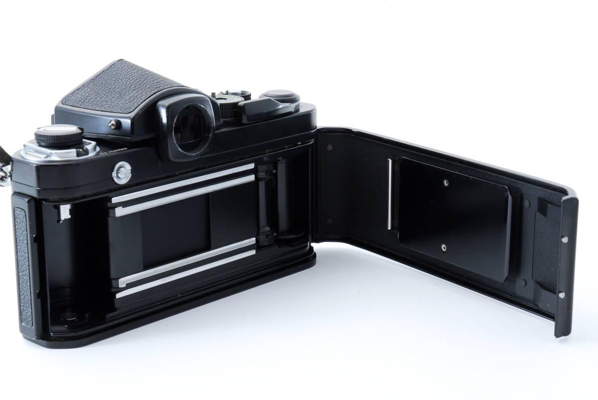 ★美品★ ニコン Nikon F2 アイレベル ブラック ボディ★ワンオーナー #5484_画像6