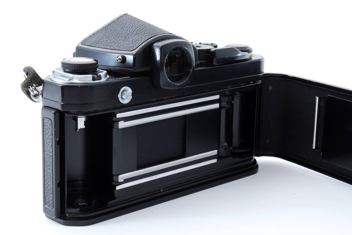 ★美品★ ニコン Nikon F2 アイレベル ブラック ボディ★ワンオーナー #5484_画像7
