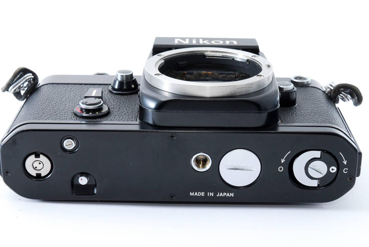 ★美品★ ニコン Nikon F2 アイレベル ブラック ボディ★ワンオーナー #5484_画像9