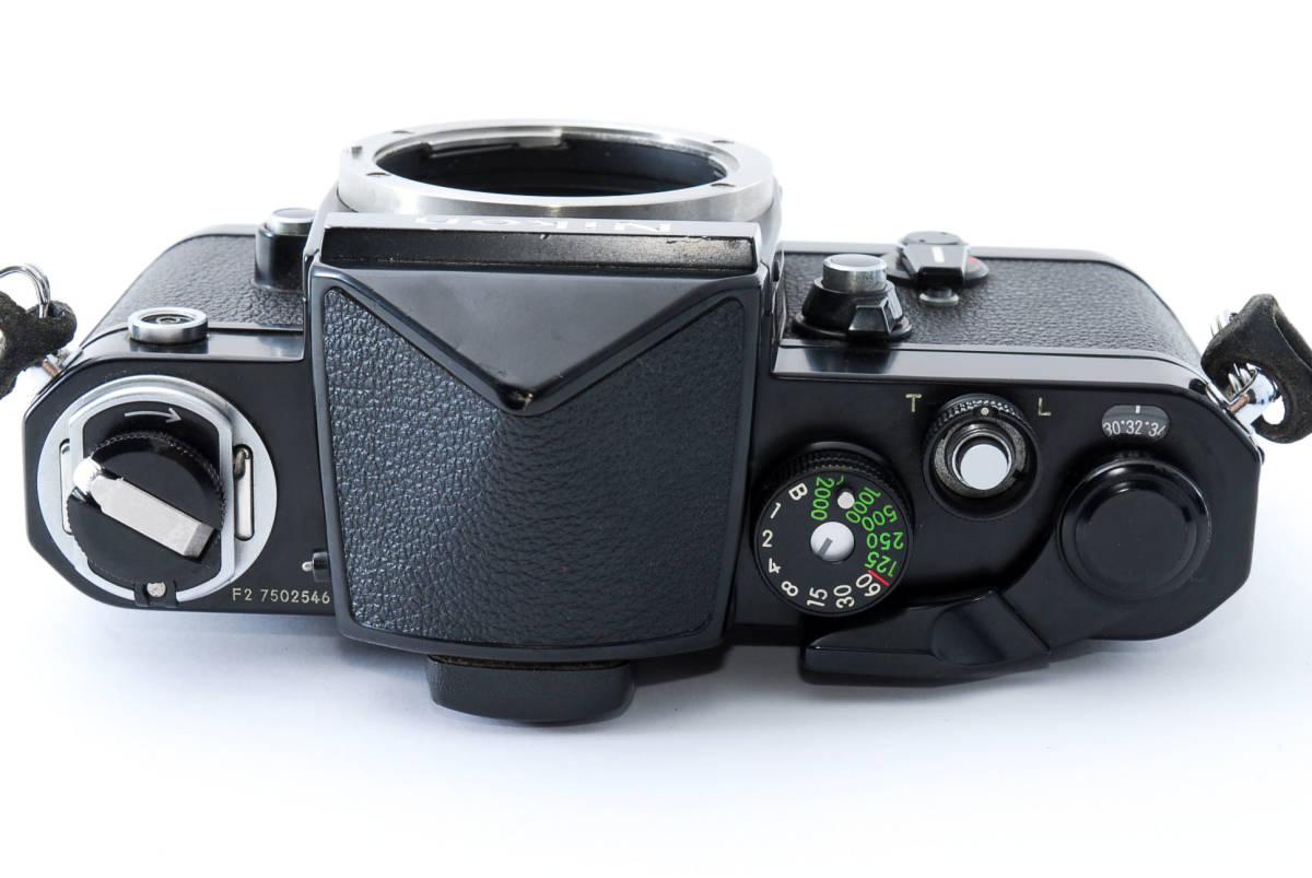 ★美品★ ニコン Nikon F2 アイレベル ブラック ボディ★ワンオーナー #5484_画像4