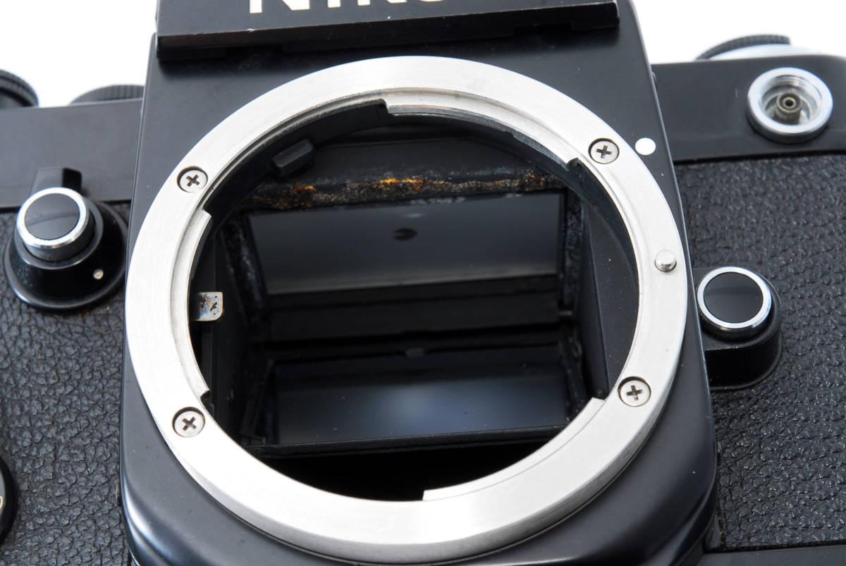 ★美品★ ニコン Nikon F2 アイレベル ブラック ボディ★ワンオーナー #5484_画像10