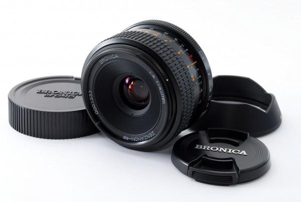 ★超美品★ ブロニカ BRONICA ZENZANON-RF 45mm F4 RF645用◆ #5309