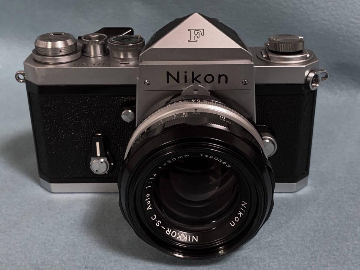 【美品】ニコン Nikon New F NIKKOR S.C 50mm 1.4レンズ