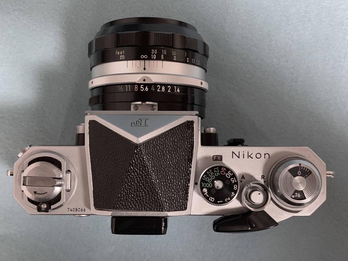 【美品】ニコン Nikon New F NIKKOR S.C 50mm 1.4レンズ_画像2