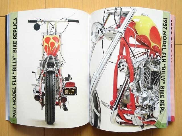 洋書◆ハーレー写真集 本 バイク クルーザー アメリカン チョッパー_右下に折れ目。元に戻しました。