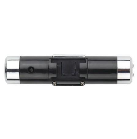 F185 1円~ 新品 未使用 自動車温度計 時計カレンダー 車のLCDクリップ デジタルバックライト (カラー:ブラック)_画像4
