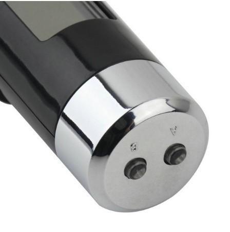 F185 1円~ 新品 未使用 自動車温度計 時計カレンダー 車のLCDクリップ デジタルバックライト (カラー:ブラック)_画像5