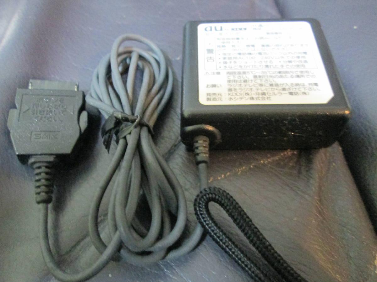1500円スタート 更に値下げ 送料無料 新古品 au KYOCERA K003 白ロム端末 _画像5