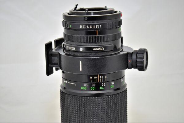 ★ジャンク★キャノン CANON FD 300mm F4 絞りハネが動きません★0030_画像6