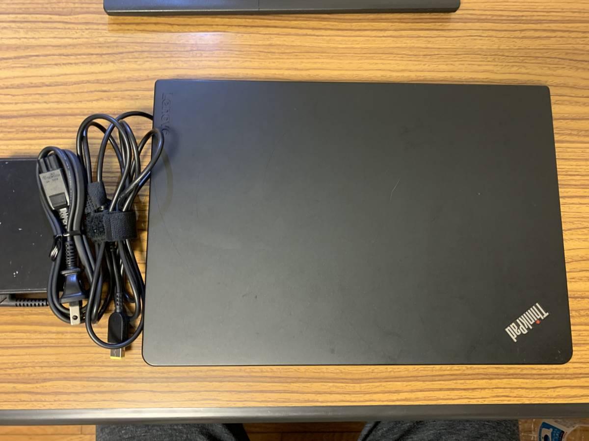 【値下げ】完動/保証残あり ThinkPad 13 (Core i5 6300U@2.40GHz/8G/SSD128GB/Win10 Pro/Full HD IPS) 液晶新品_画像2