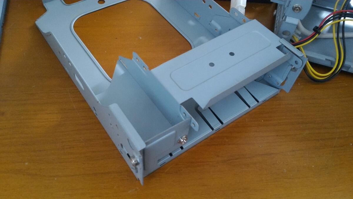 自作用PCケース MINI-ITX 小型 120w電源付き 中古_画像6