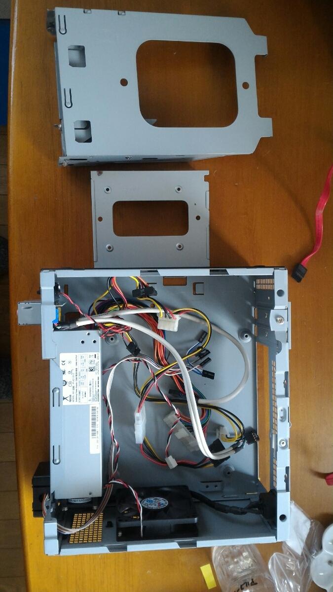 自作用PCケース MINI-ITX 小型 120w電源付き 中古_画像5