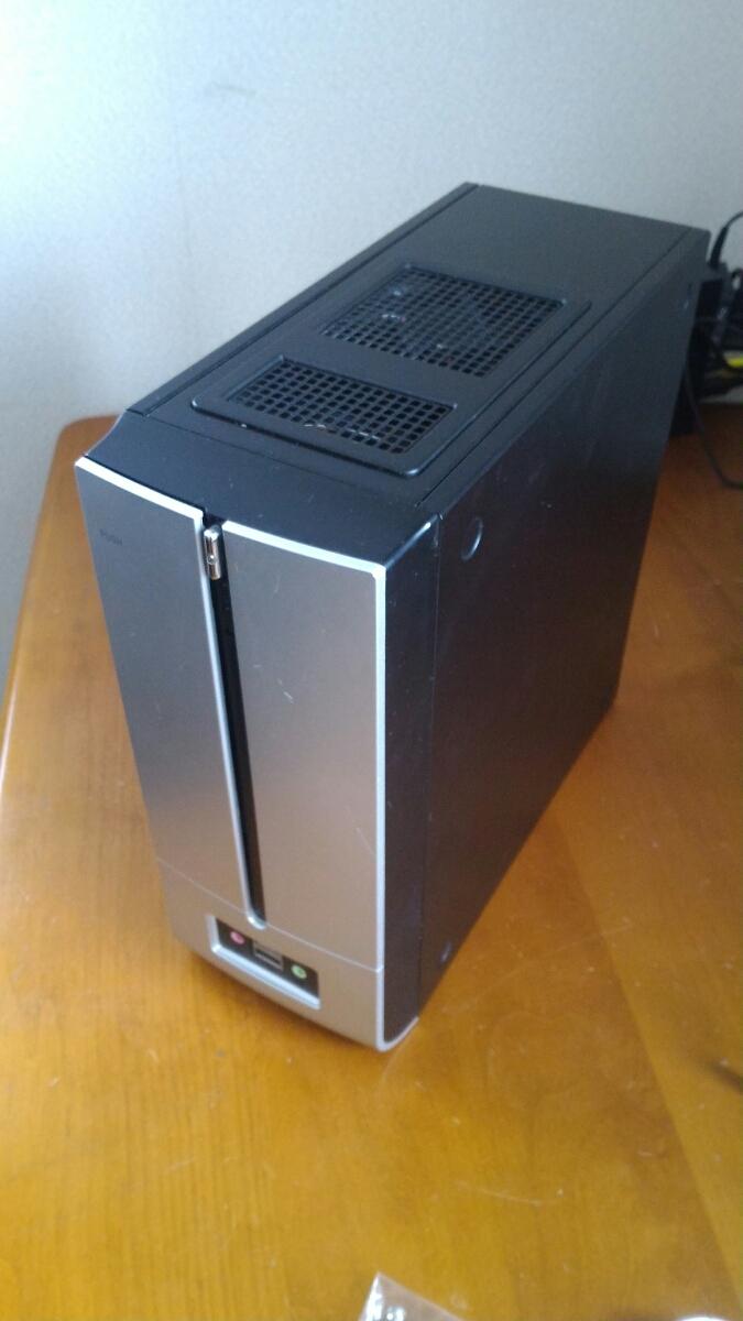 自作用PCケース MINI-ITX 小型 120w電源付き 中古