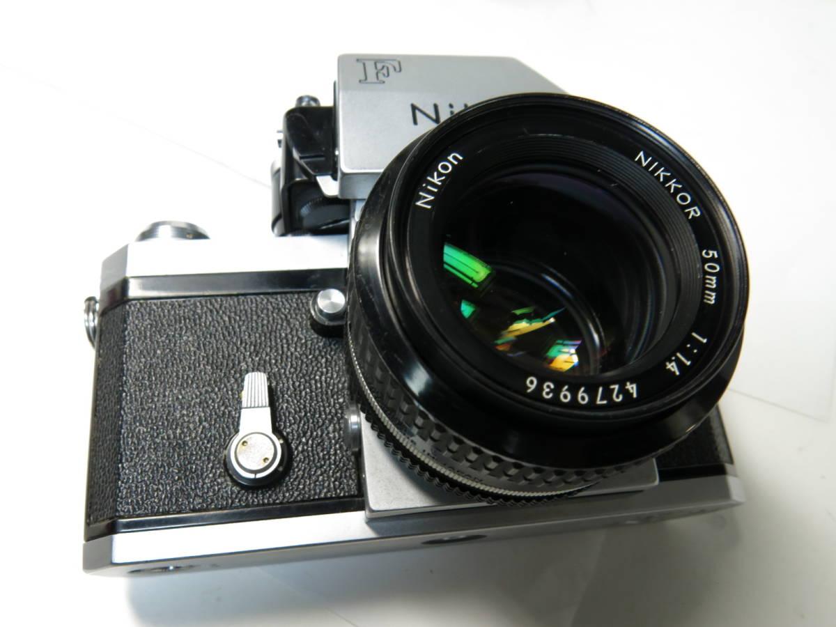 ニコンF フォトミック +ニッコール 50mm f1.4とニコマート、レンズなど付き やや難あり_画像2