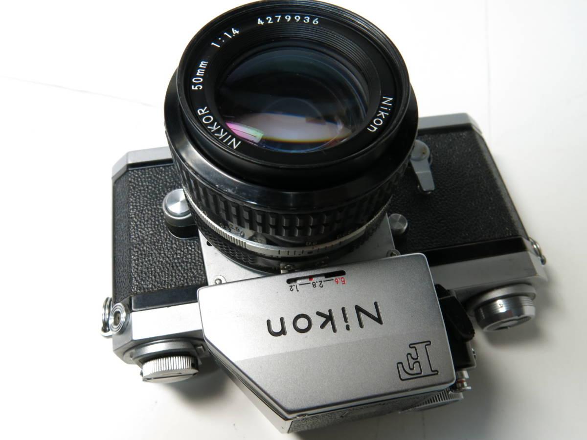ニコンF フォトミック +ニッコール 50mm f1.4とニコマート、レンズなど付き やや難あり_画像3