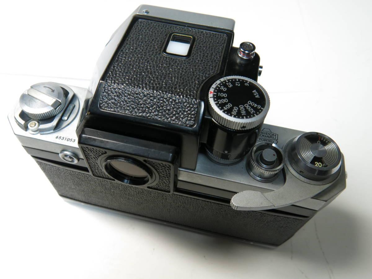 ニコンF フォトミック +ニッコール 50mm f1.4とニコマート、レンズなど付き やや難あり_画像4