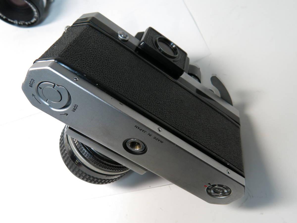 ニコンF フォトミック +ニッコール 50mm f1.4とニコマート、レンズなど付き やや難あり_画像5