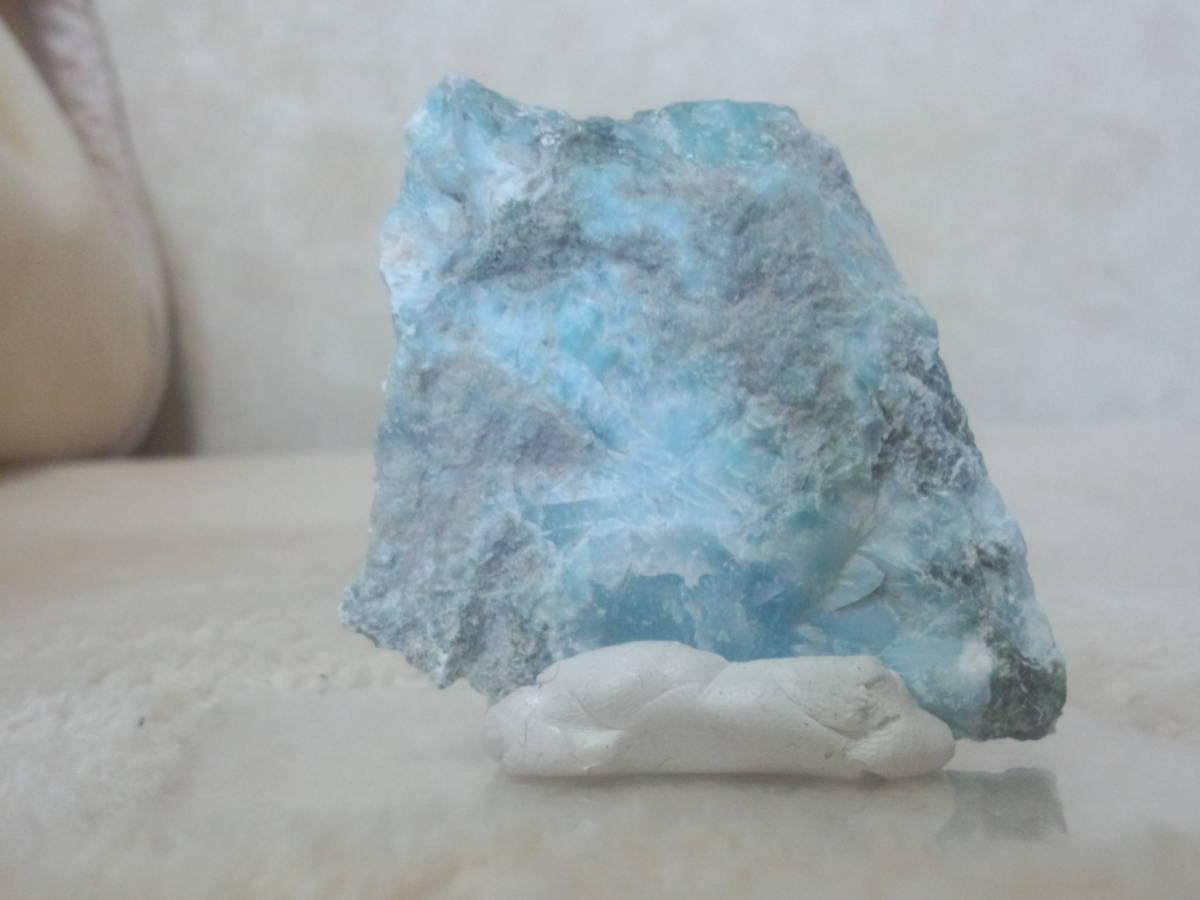 天然石ラリマー原石ドミニカ共和国産_画像1