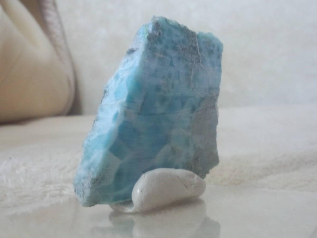 天然石ラリマー原石ドミニカ共和国産_画像4