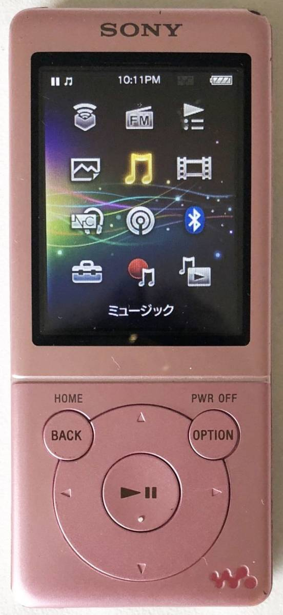 【SONY】デジタルウォークマン NW-S774(8GB)ピンク:送料185円