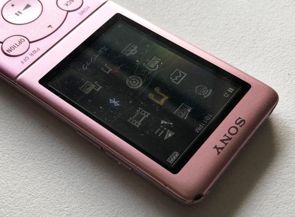 【SONY】デジタルウォークマン NW-S774(8GB)ピンク:送料185円_画像3