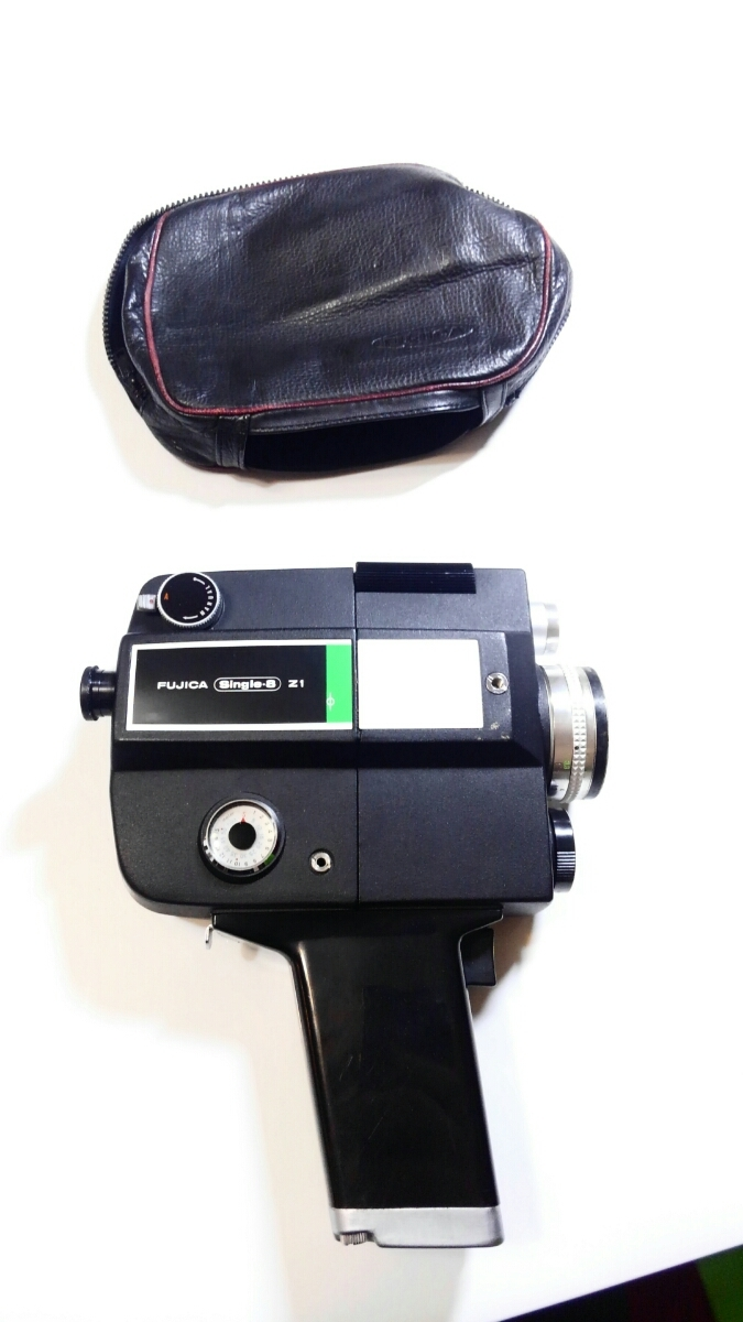 8ミリ フィルムカメラ FJICA single-8 Z1 美品 綺麗 ※長期保管 動作未確認 ジャンク品※_画像1