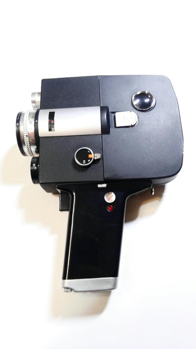 8ミリ フィルムカメラ FJICA single-8 Z1 美品 綺麗 ※長期保管 動作未確認 ジャンク品※_画像2