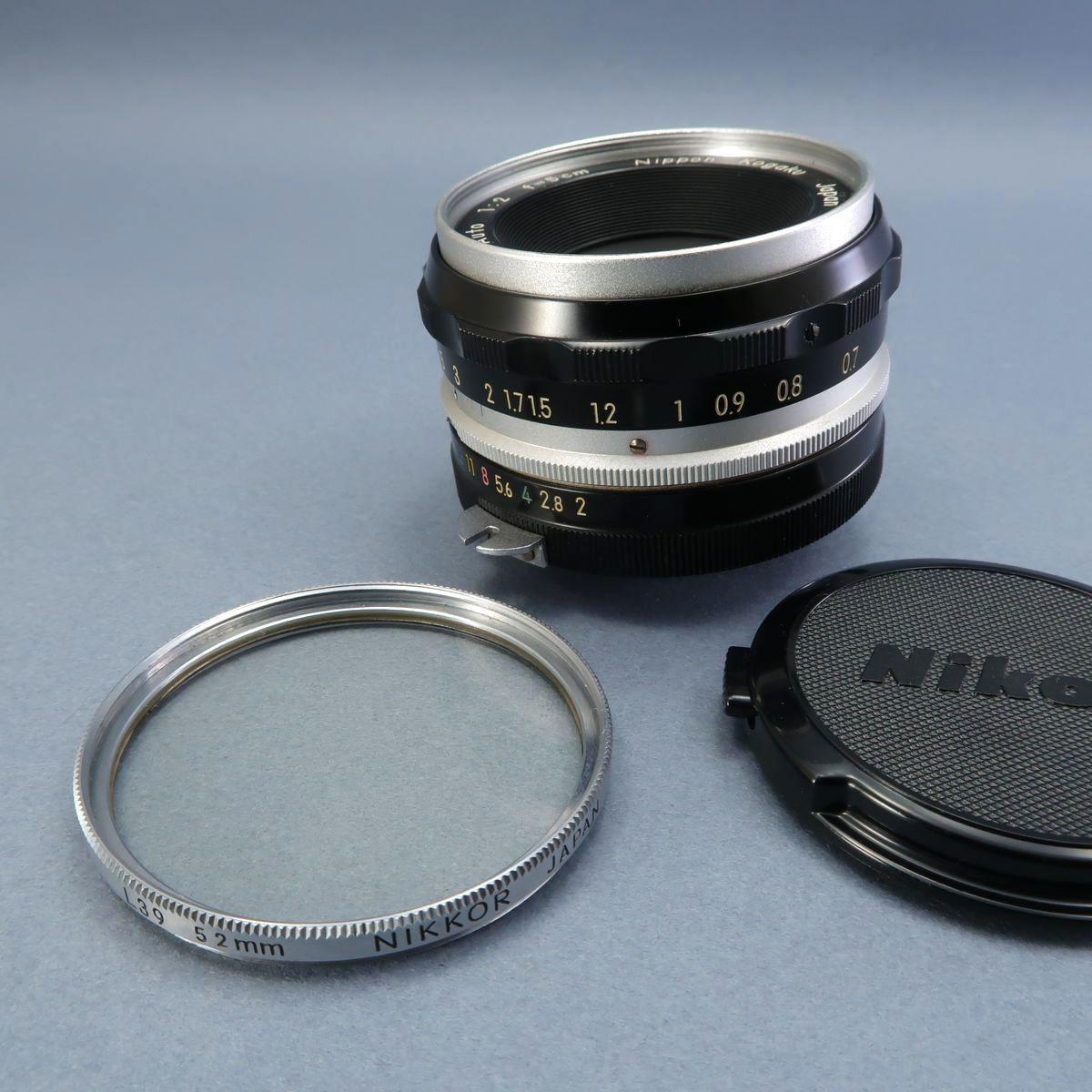 ★Nikon F フィルムカメラ 本体 レンズ Nikkor-Auto 105mm F 2.5 28mm F 3.5 NIKKOR-H Auto 1:3.5 f=2.8cm FTN 付属多数 ジャンク_画像9