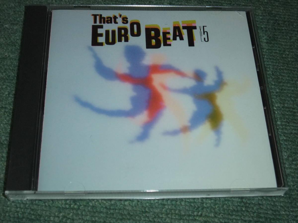 ★即決★CD【ザッツ・ユーロビート vol.5/】That's Eurobeat■マイケル・フォーチュナティ_画像1