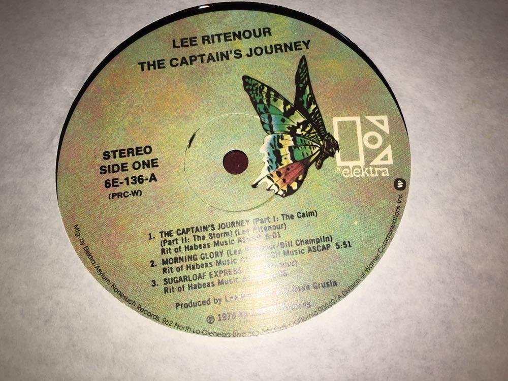 Lee Ritenour★中古LP/USオリジナル盤「リー・リトナー~The Captain's Journey」_画像3