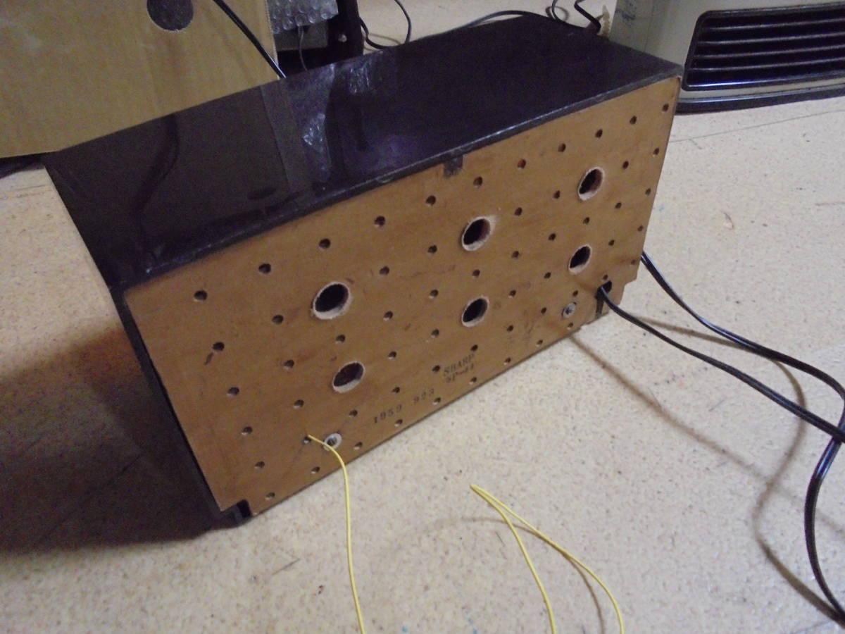 シャープ真空管レトロラジオ 5Pシリーズ 5P-11 _画像4