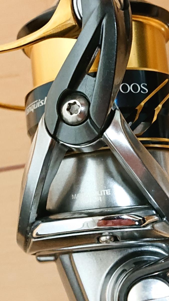16 ヴァンキッシュ C2000S 美品 スプール2個付き(ストラディック・ツインパワー)_画像2