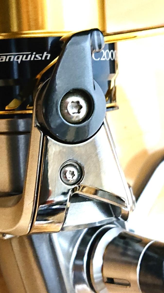 16 ヴァンキッシュ C2000S 美品 スプール2個付き(ストラディック・ツインパワー)_画像3
