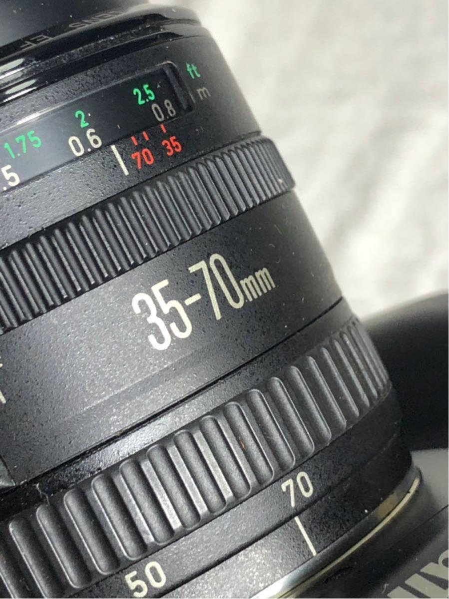 【ケース付き】CANON キャノン EOS 620 レンズ35-70mm 望遠レンズ 一眼レフ フィルムカメラ 1円スタート_画像3