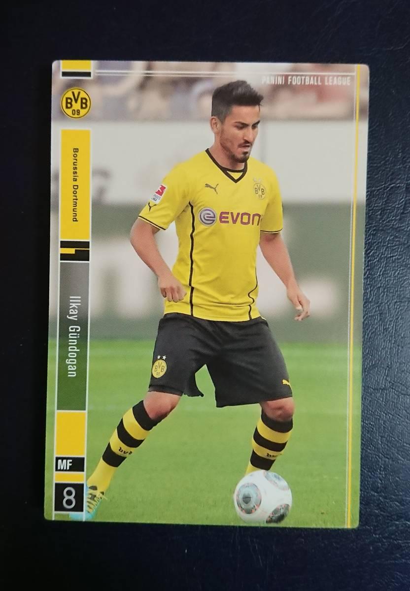 パニーニフットボールリーグ PFL イルカイ・ギュンドアン【即決・同梱可】Ilkay Gundogan BVB Borussia Dortmund ドルトムント_画像1