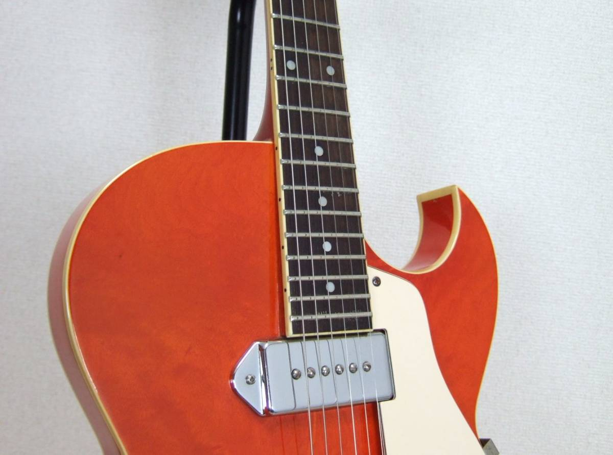 Epiphone SORRENTO OR ソレント オレンジ レア品_画像7