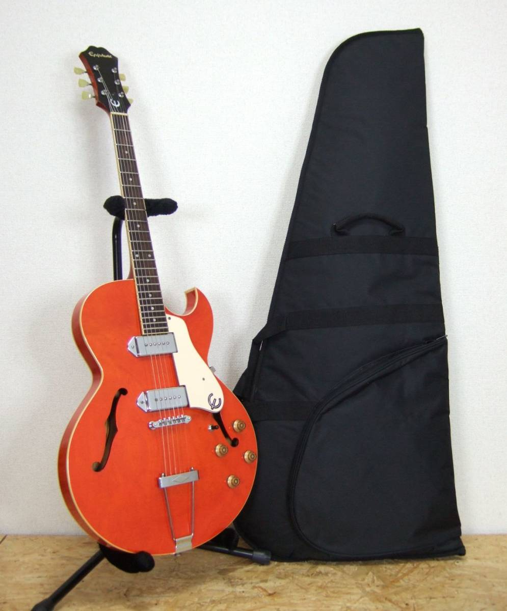 Epiphone SORRENTO OR ソレント オレンジ レア品_画像2