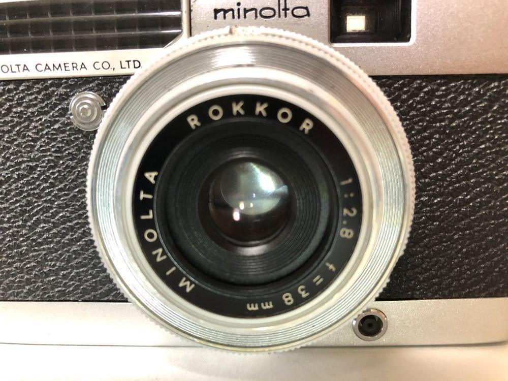 【試写済】MINOLTA/ミノルタ ミノルチナP (露出計OK・動作品)_画像2