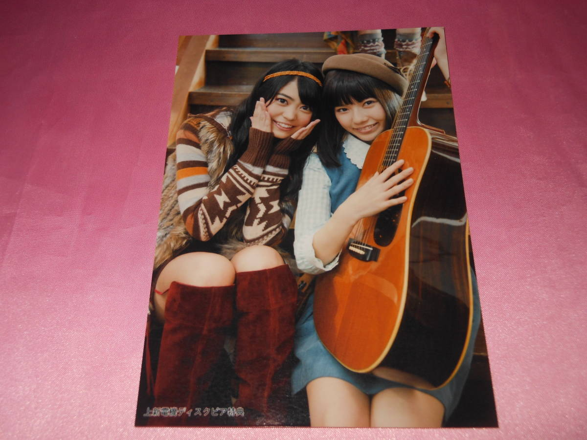 AKB48島崎遥香,前田亜美,写真,永遠プレッシャー 上新電機ディスクピア_画像1