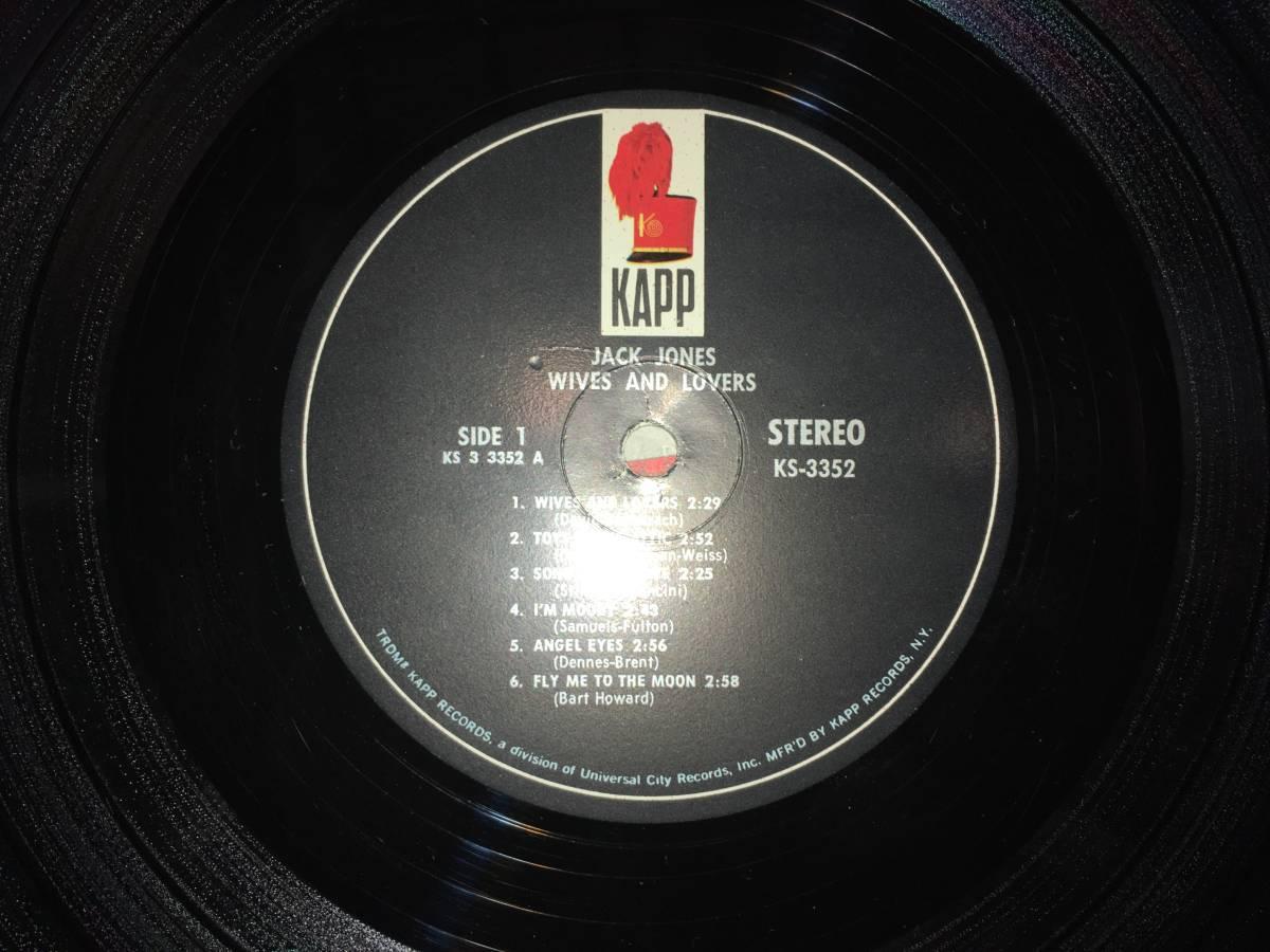 LPレコード/US盤/KS3352●ジャックジョーンズJack Jones / Wives And Lovers_画像4