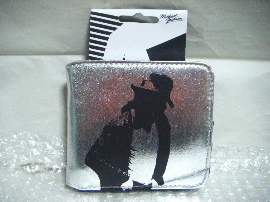 ■Pop Art Products『マイケルジャクソン 2つ折財布(小銭入れ付)』 激レアです。