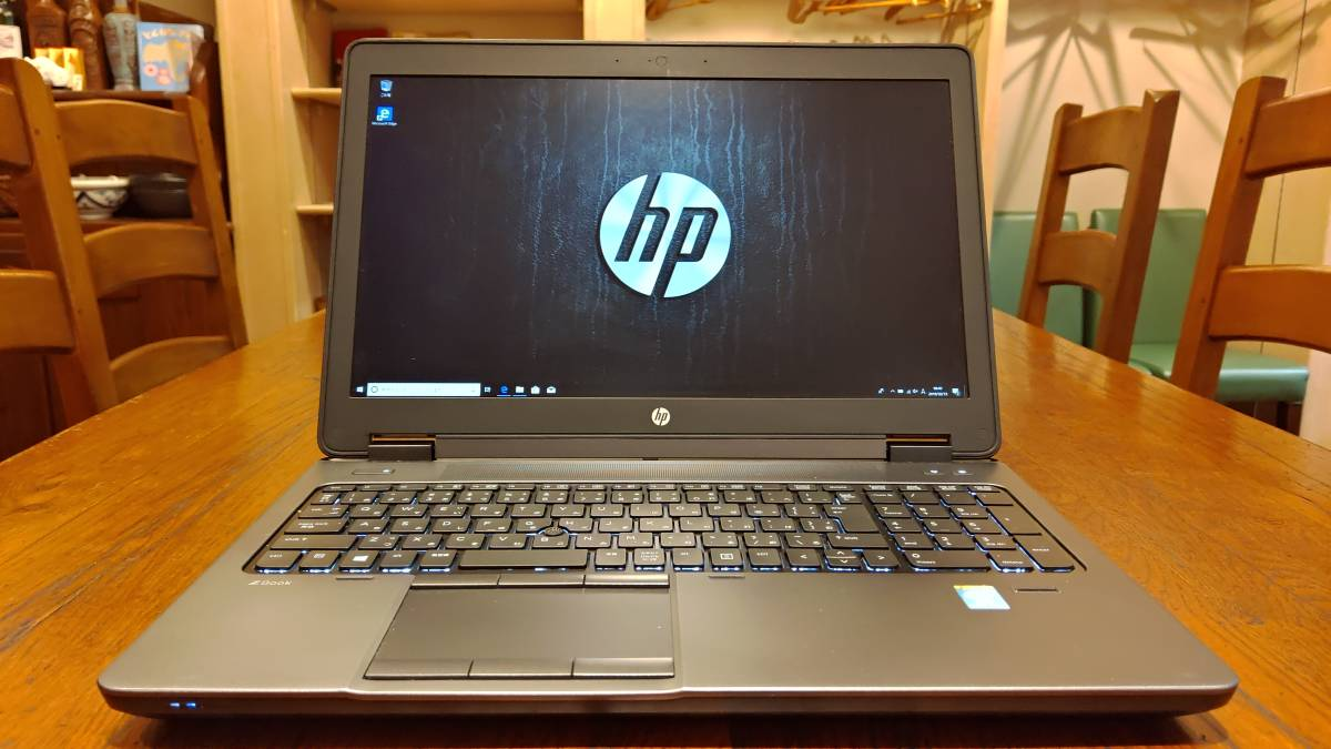 ワークステーション 高速SSD1TB HP ZBook 15 Core i7-4800MQ 16G Quadro K2100M FHD office2016