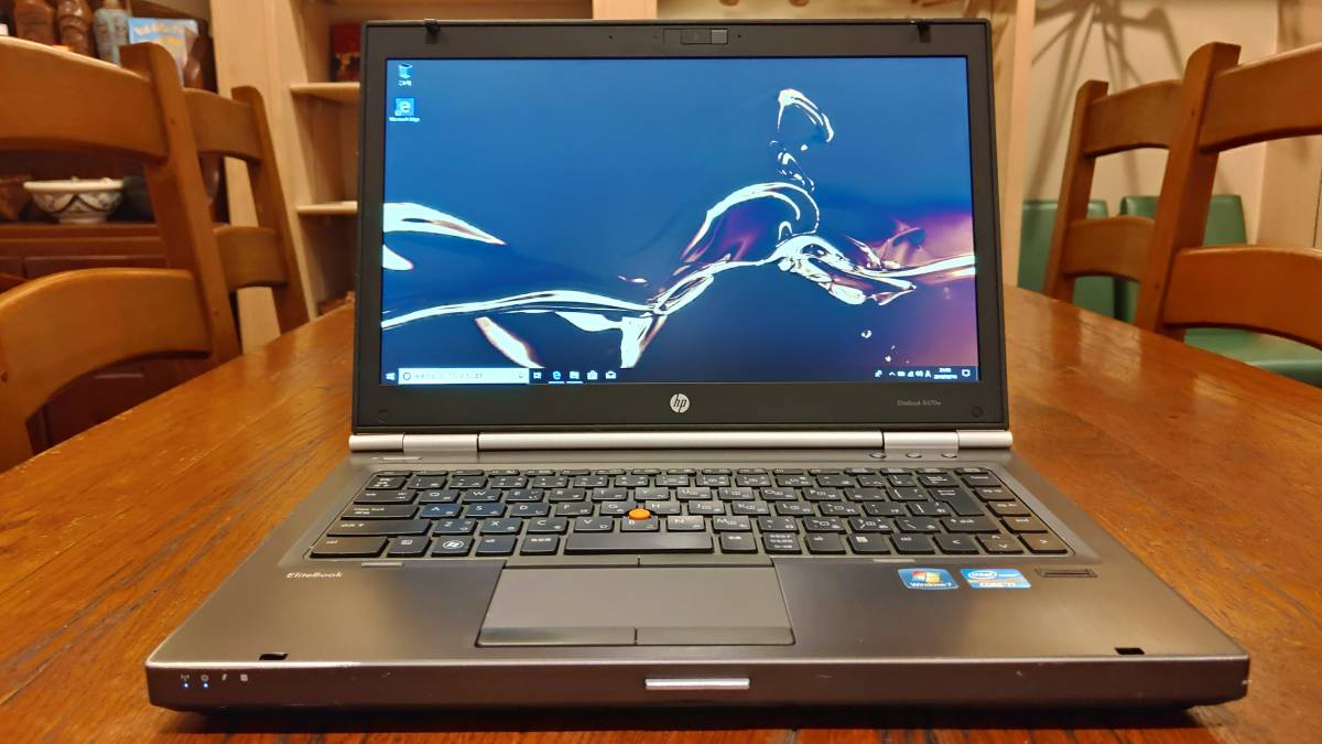 上位モデル 高速SSD HP EliteBook 8470w Core i7- 3610QM 8G 新SSD480GB+HDD500GB FirePro M2000 office2016