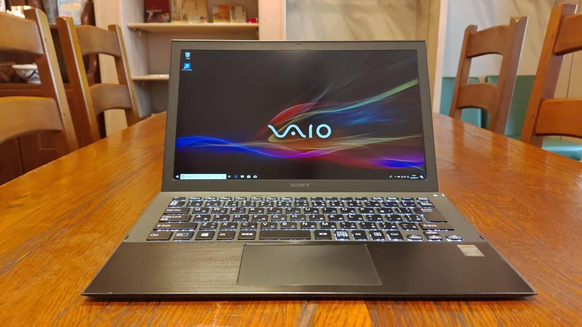 上位モデル 高速SSD SONY VAIO Pro 13 SVP132A26N Core i7-4500U 8G 新M.2 SSD500GB フルHD offce2016