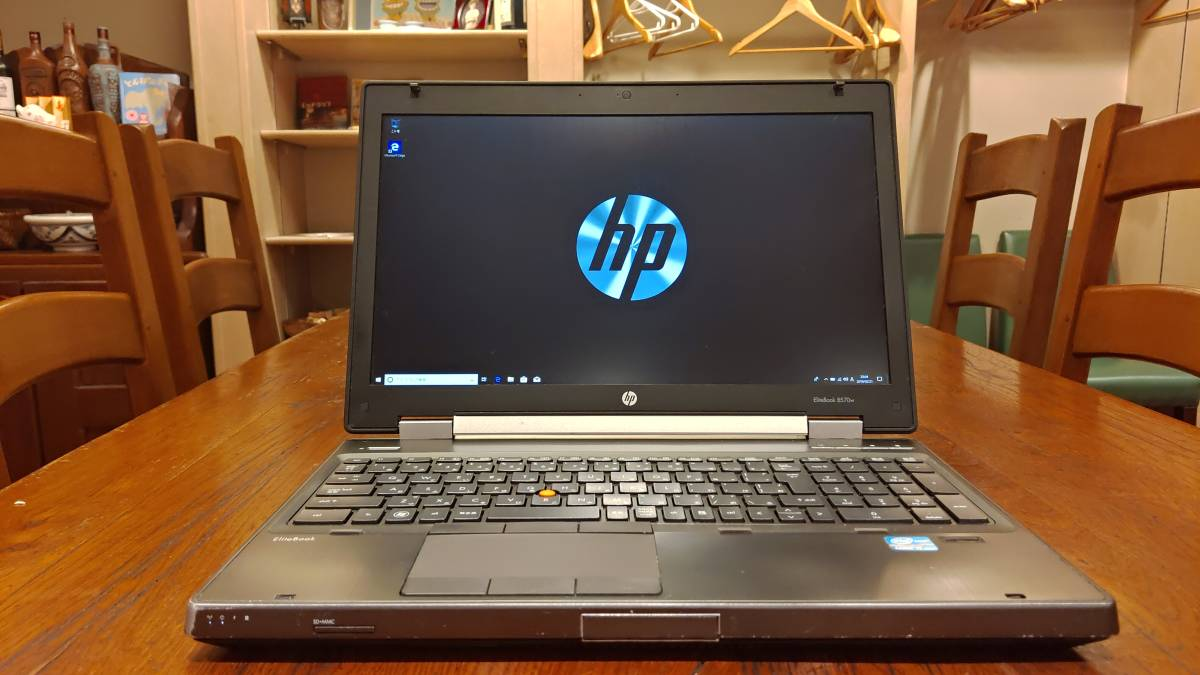上位モデル 高速SSD HP EliteBook 8570w Core i7- 3740QM 8G 新SSD480GB+HD500GB Quadro K1000M FHD office2016