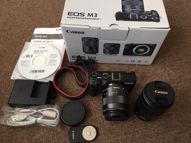 キャノン Canon EOS M3 レンズセット 中古品