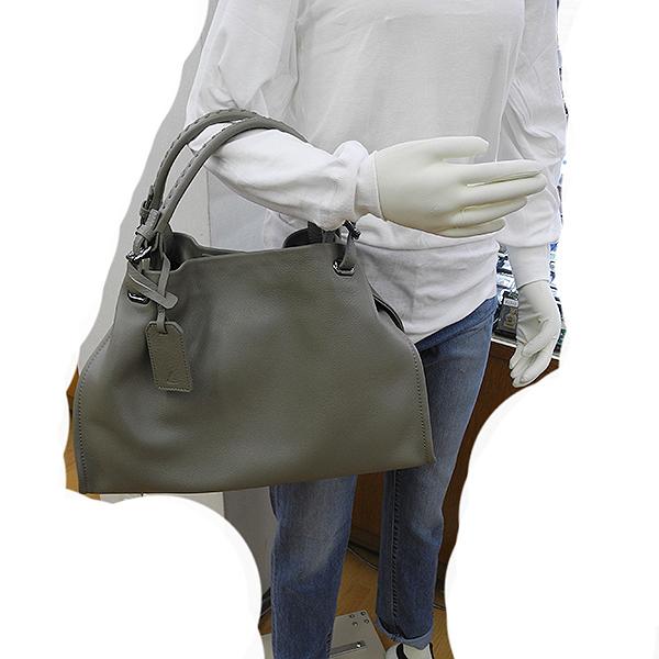 (227) ツチヤカバンセイゾウショ 土屋鞄製造所 土屋鞄 クラルテ アークキャリートート グレー系 未使用_画像10