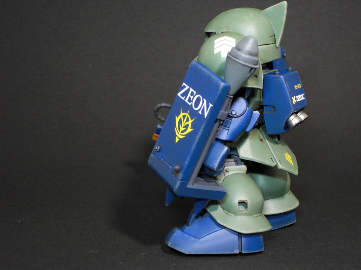 SDガンダム クロスシルエット ザクⅠ 塗装済み完成品 / ガンプラ / 旧ザク_画像7