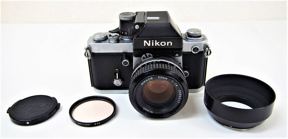 ⑤★中古品 Nikon F2 7859886 フィルムカメラ マニュアル レンズ Nikon NIKKOR 50mm 1:1.4 3986517 ニコン カメラ 1円スタート