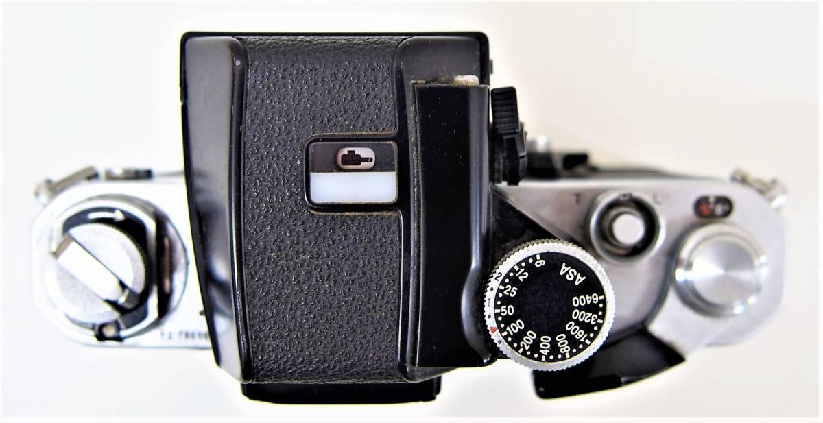 ⑤★中古品 Nikon F2 7859886 フィルムカメラ マニュアル レンズ Nikon NIKKOR 50mm 1:1.4 3986517 ニコン カメラ 1円スタート_画像6